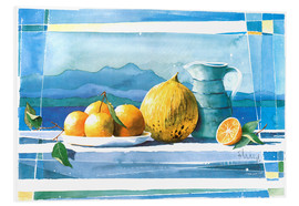 Foam board print  Summer refreshment - Franz Heigl