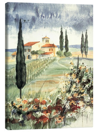 Canvas print  Toscana I - Franz Heigl