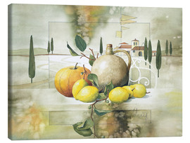 Canvas print  From the South III Variation - Franz Heigl