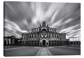 Canvas print  Semperoper Dresden - Robin Oelschlegel