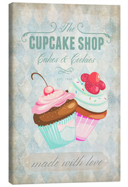 Canvas print  Cupcake Shop - Andrea Haase