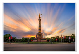 Premium poster  Chick on a stick - Victory Column - Photovojac