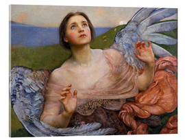 Acrylic print  The Sense of Sight - Annie Louisa Swynnerton