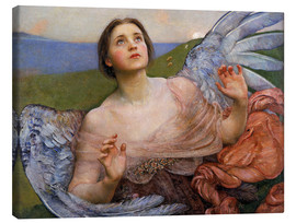 Canvas print  The Sense of Sight - Annie Louisa Swynnerton