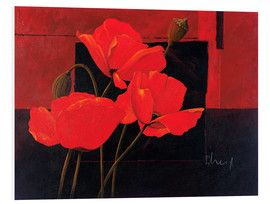 Franz Heigl - Bright red poppy