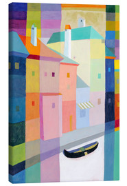 Canvas print  Venetian play of colors - Eugen Stross