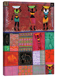 Canvas print  Patchwork Africa - Eugen Stross