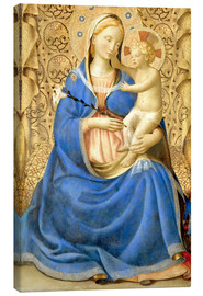 Canvas  Madonna with Child - Fra Angelico