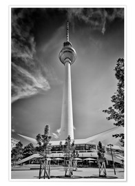 Premium poster BERLIN Television Tower