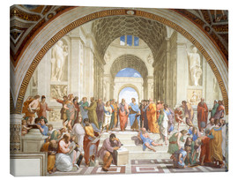 Canvas  The School of Athens - Raffael