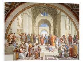 Foam board print  The School of Athens - Raffael