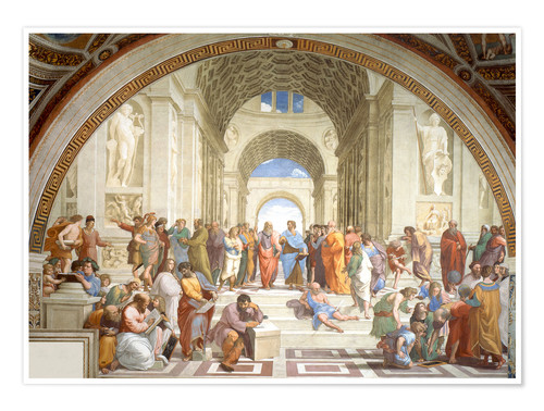 Premium poster The School of Athens