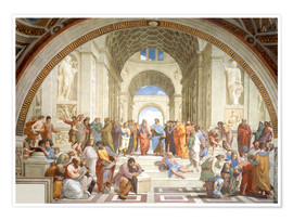 Premium poster  The School of Athens - Raffael