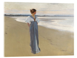 Acrylic print  On the sands - William Henry Margetson