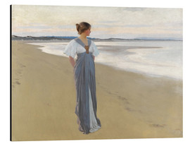 Aluminium print  On the sands - William Henry Margetson