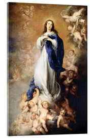 Acrylic print  Immaculate Conception of Mary - Bartolome Esteban Murillo