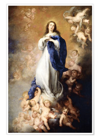 Premium poster  Immaculate Conception of Mary - Bartolome Esteban Murillo