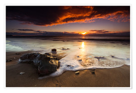 Premium poster  New Zealand Sunrise # 2 - Sebastian Warneke