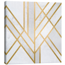 Canvas print  Art deco geometry - Elisabeth Fredriksson