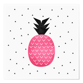 Poster Pink Pineapple