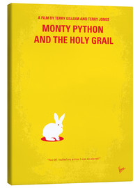 Canvas print  No036 My Monty Pyton And The Holy Grail minimal movie poster - chungkong