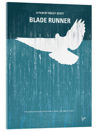 Acrylic glass  No011 My Blade Runner minimal movie poster - chungkong