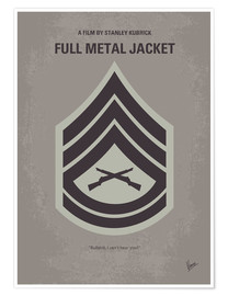 Poster  No030 My Full Metal Jacket minimal movie poster - chungkong