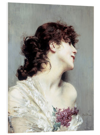 Forex  Profile of a young Woman - Giovanni Boldini