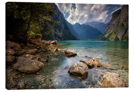 Canvas print  Konigssee Berchtesgaden - Andy Donath