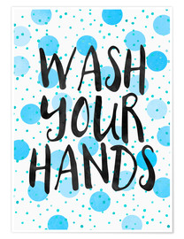Premium poster Wash Your Hands
