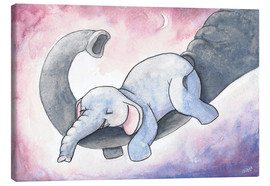 Canvas print  Little elephant - Nadine Conrad