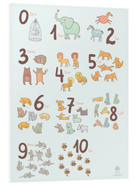 Forex  Animal numbers for the nursery - Petit Griffin