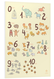 Forex  Zoological numbers for nursery - Petit Griffin