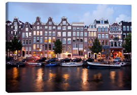 Canvas print  Amsterdam Netherlands - Peter Schickert