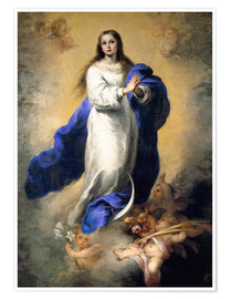 Premium poster The Immaculate Conception