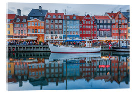 Acrylic glass  Nyhavn reflected - Scott McQuaide