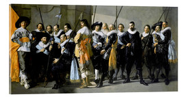 Acrylic print  Protect from the neighborhood XI under command of Captain Reynier Reae - Frans Hals