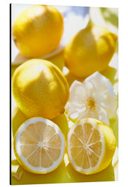 Aluminium print  Lemon Kick - K&L Food Style