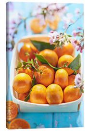 Canvas print  Summer-sweet tangerines - K&L Food Style