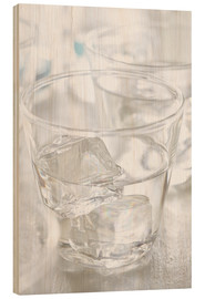 Wood print  Pure water - K&L Food Style