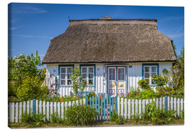 Canvas print  Thatched cottage on the Baltic Sea - Christian Müringer