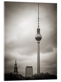 Acrylic print  Berlin TV tower - Alexander Voss