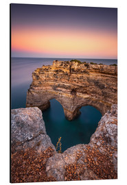Aluminium print  Heart of the Algarve (Praia da Marinha / Portugal) - Dirk Wiemer