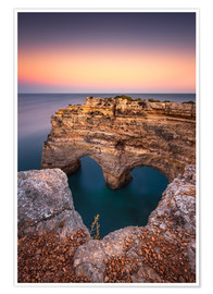 Premium poster  Heart of the Algarve (Praia da Marinha / Portugal) - Dirk Wiemer