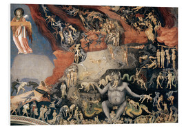 Foam board print  Last Judgement - Giotto di Bondone