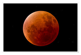 Premium poster Blood Moon September 2015