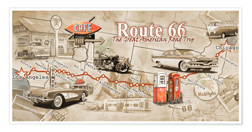 581424_poster_l Map Of Route From California To Oklahoma on