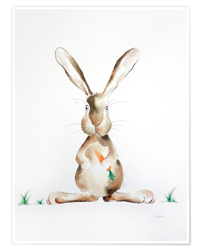 Poster Hase