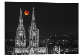 Forex  Blood Red Moon Cologne Cathedral - rclassen