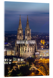 Acrylic print  cathedral of cologne - rclassen